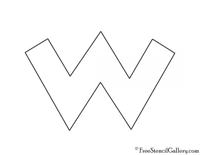 Wario Symbol Stencil
