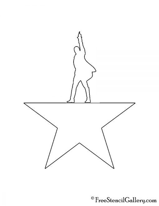 Hamilton Stencil