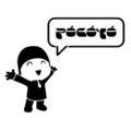 Pocoyo 02 Stencil