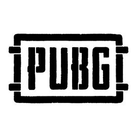 PUBG Logo Stencil 02