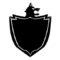 Pokemon Shield Logo Stencil