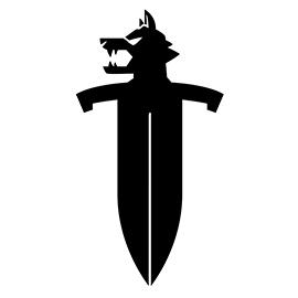 Pokemon Sword Logo Stencil