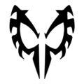 Spiderman 2099 Mask Stencil
