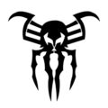 Spiderman 2099 Symbol Stencil