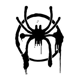 Spiderman – Miles Morales Symbol Stencil